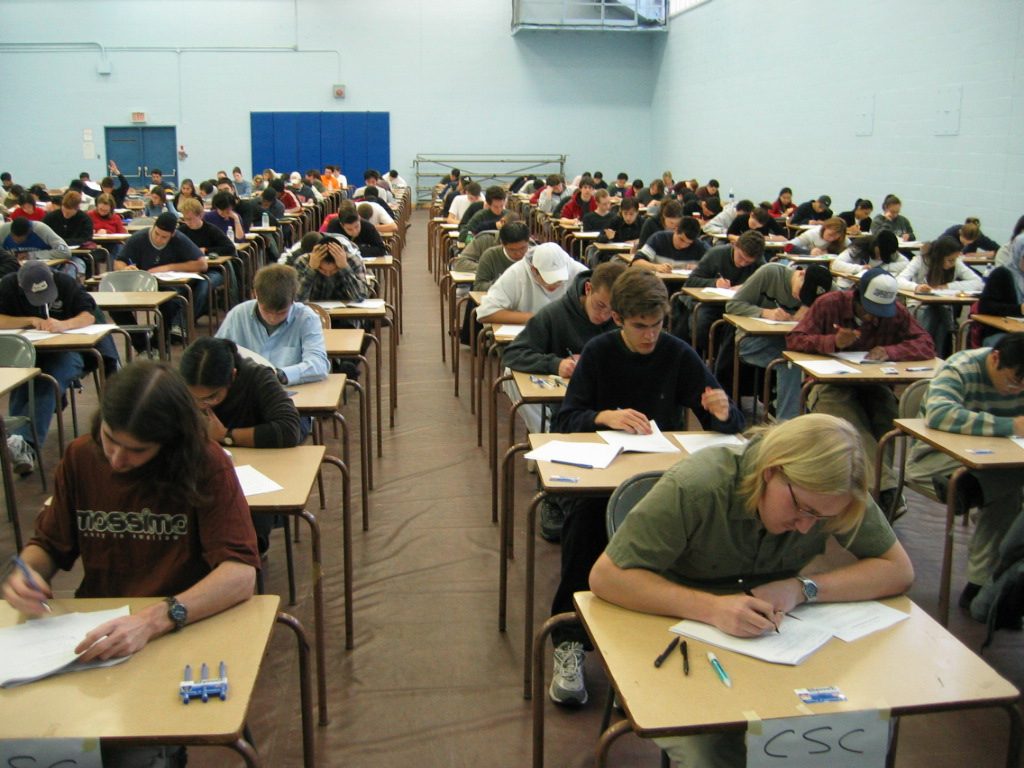 Room With Nothing In It: There's Nothing Worse Than Saturday Exams