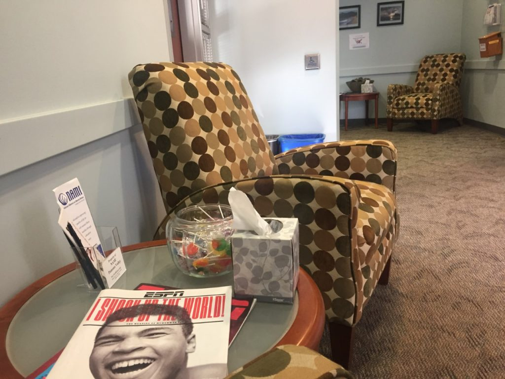 Monsour Waiting Room
