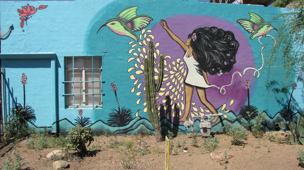 Image may contain: Wall, Mural, Graffiti, Art
