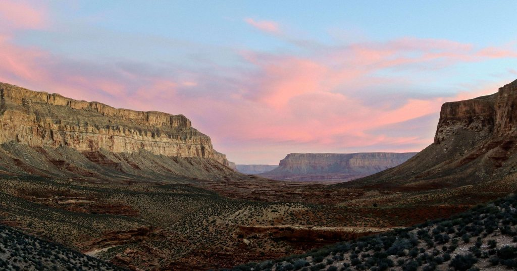 Image may contain: Mesa, Valley, Outdoors, Nature, Mountain, Canyon