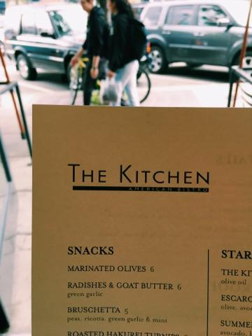 The Kitchen serves farm to table food and has a killer drink menu.