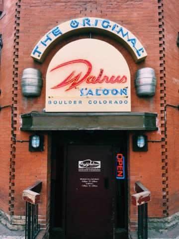 The Walrus Saloon is open until 2 am, in case you want to come back.