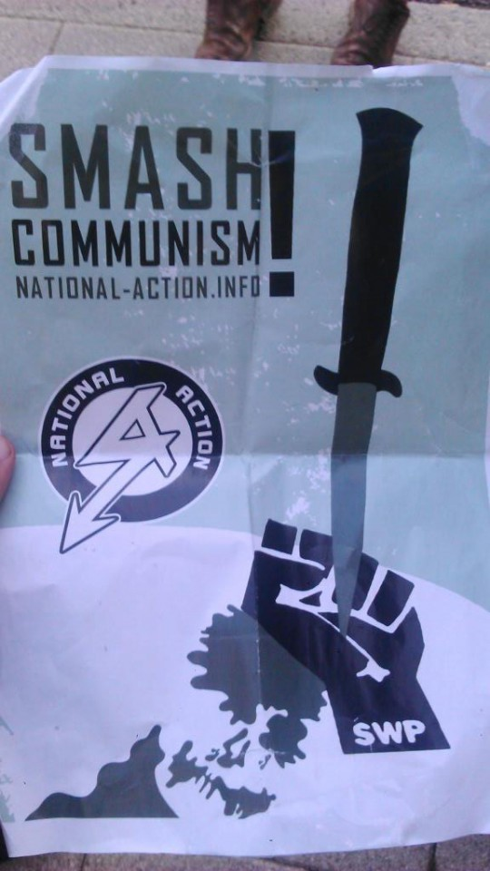 national action poster