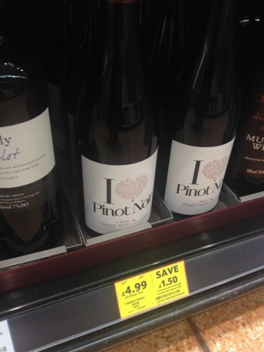 We didn't <3 Pinot Noir.