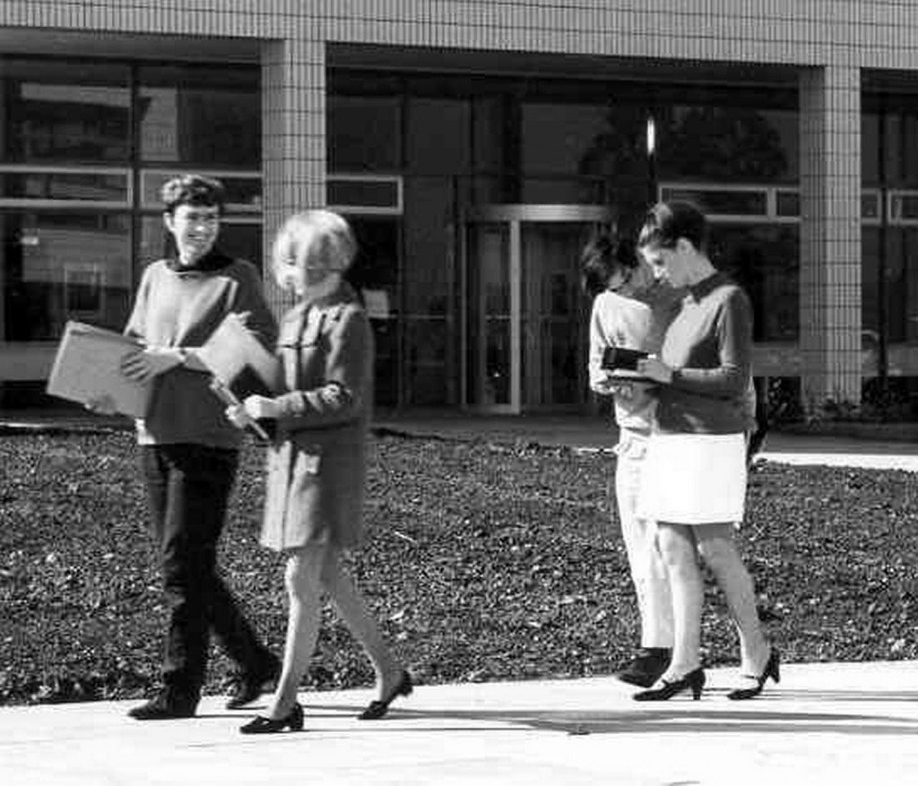 Students in 1967