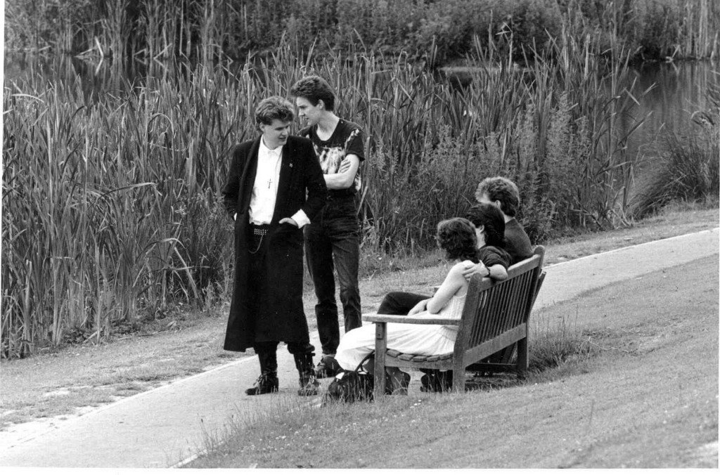 Gathering at Tocil lake in the 80s