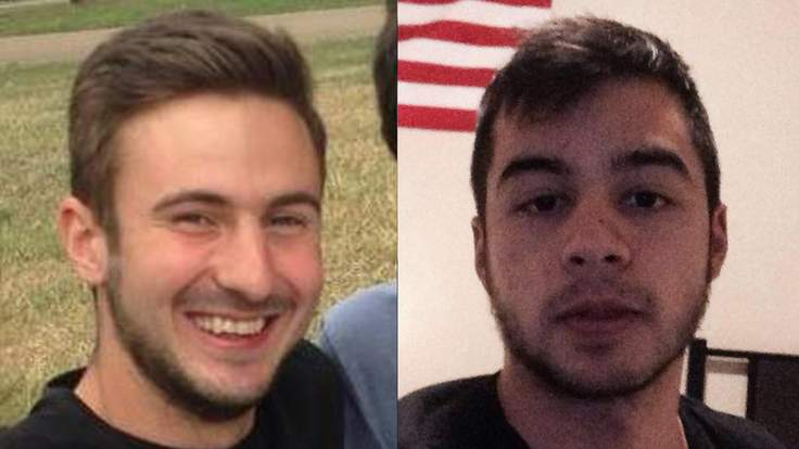 James Murphy (left) and Daniel Hollnsteiner (right)
