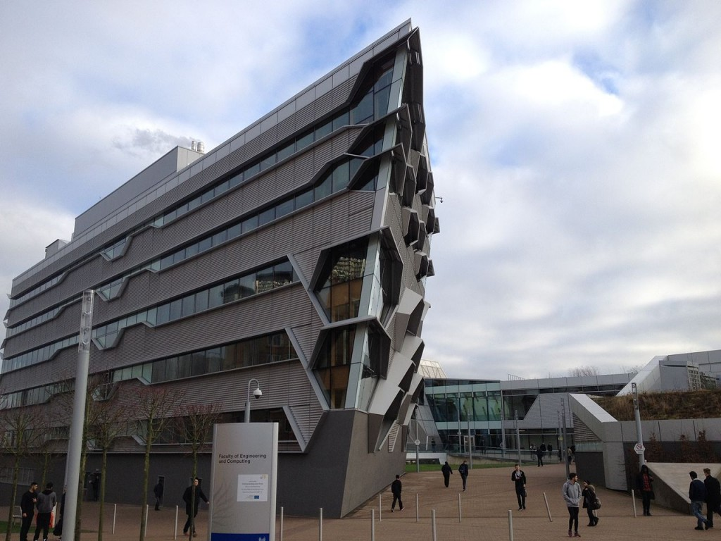 Coventry's Computing and Engineering building where Hengqin studies