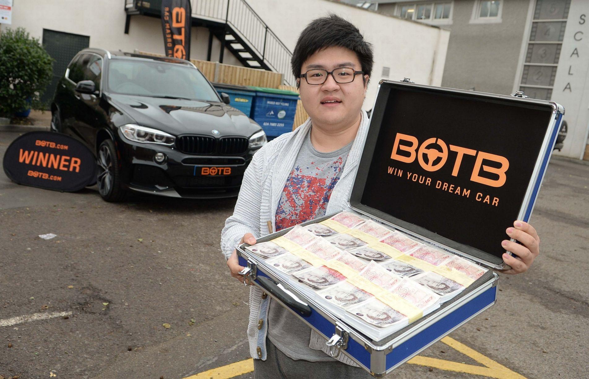 """It's like a dream"": Hengqin and his winnings"