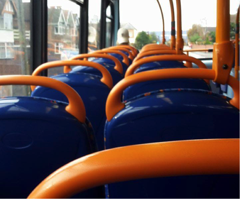 If only the bus was always this empty