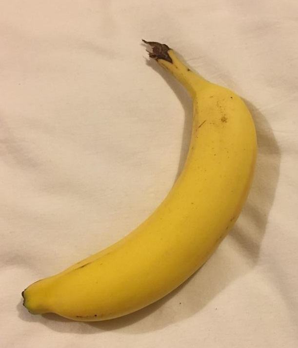 The pure evil that is actually a banana