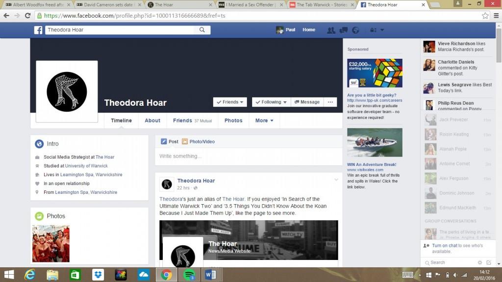 Theodora Facebook