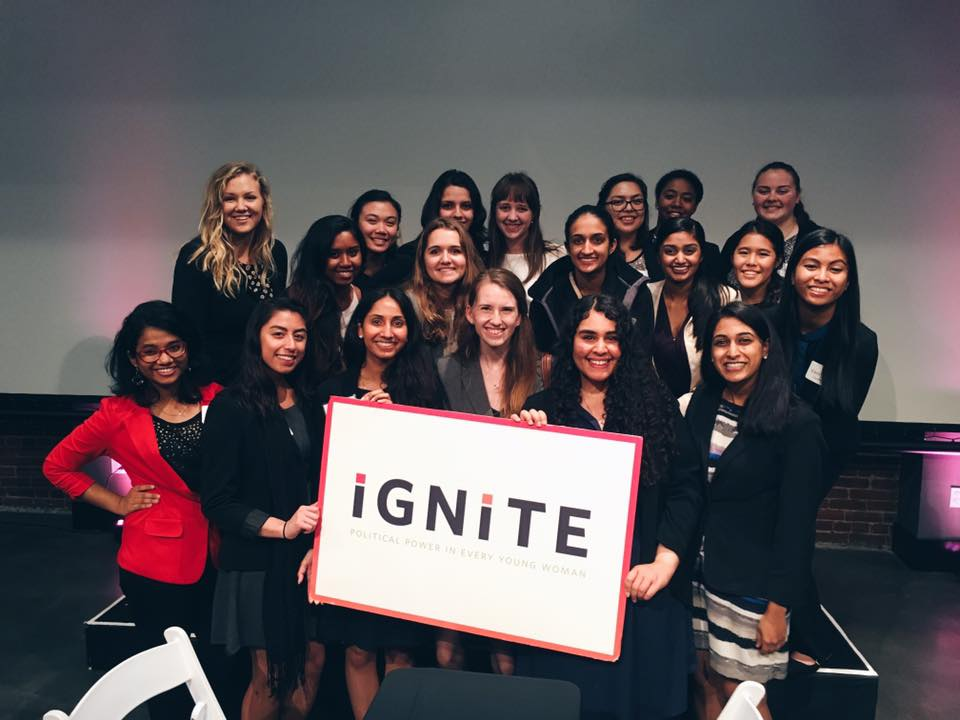 IGNITE at UC Davis at the IGNITE California Young Women's Political Leadership Conference in March, 2016