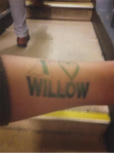 willow tag