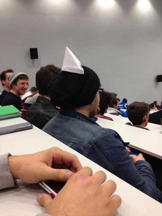 a degree in paper hat making