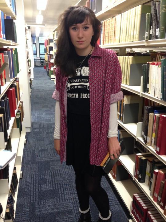 Emma, 2nd year English literature student