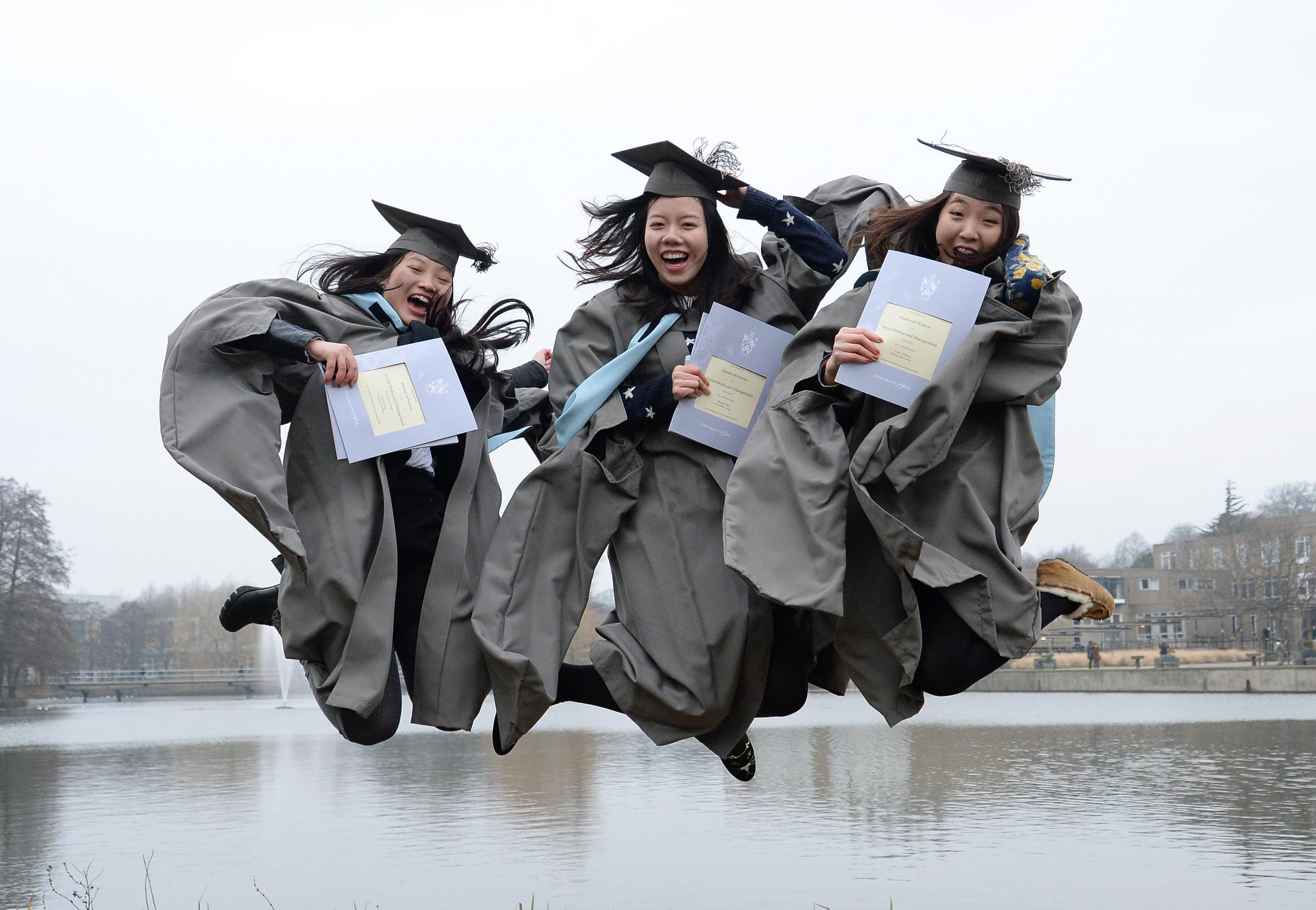 An official photographer will retouch your graduation pictures to ...