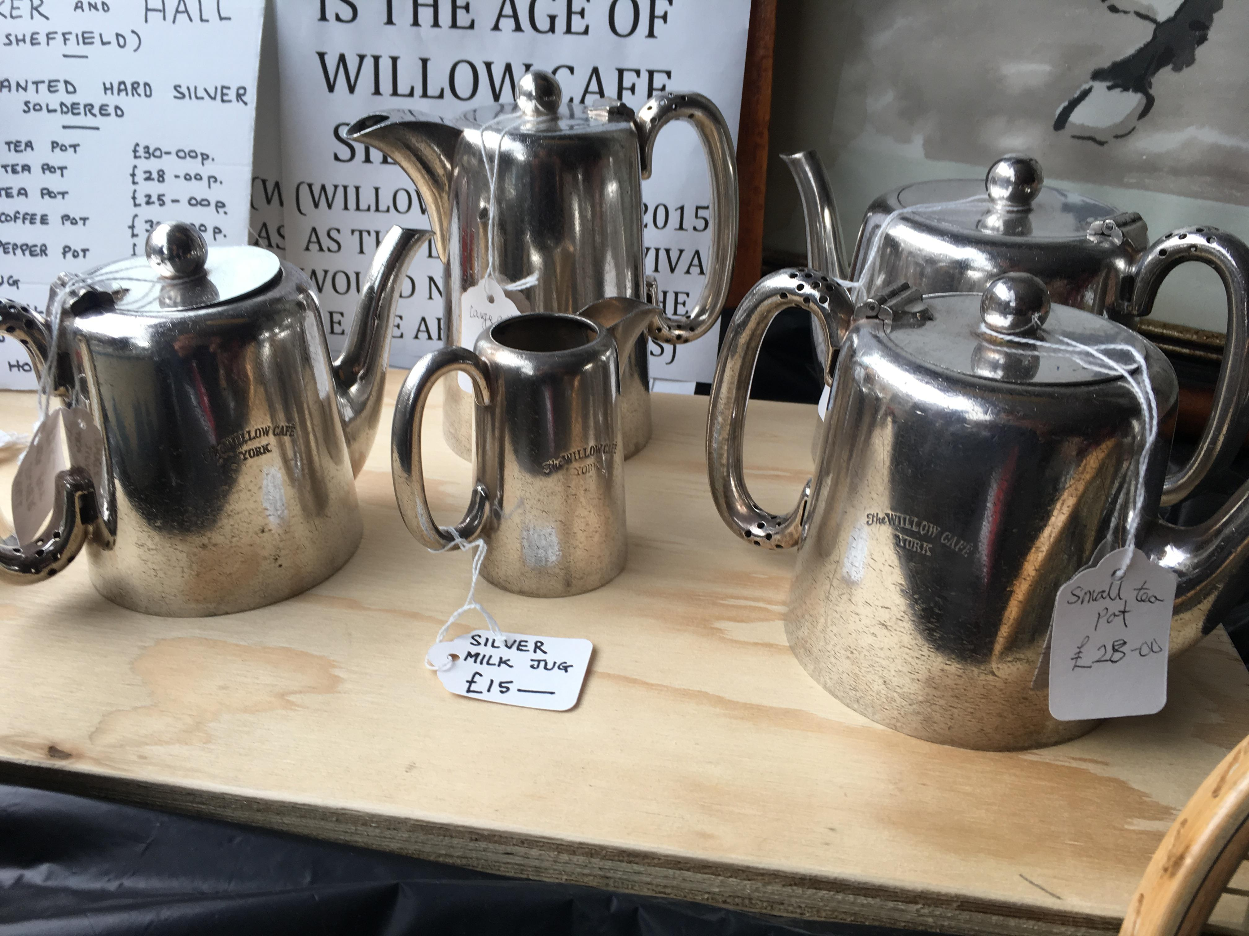 You can even buy Willow-branded silverware from its cafe heydays