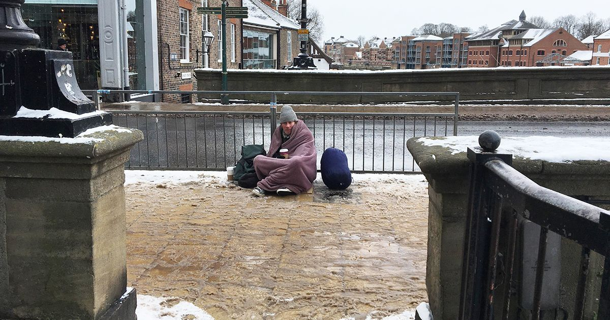 We Spoke To The Homeless People Who Ve Been Sleeping Rough