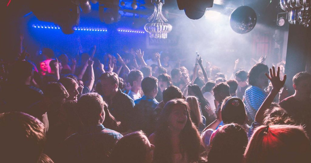 Image may contain: Music, Leisure Activities, Person, Human, Crowd, Night Life, Night Club, Club
