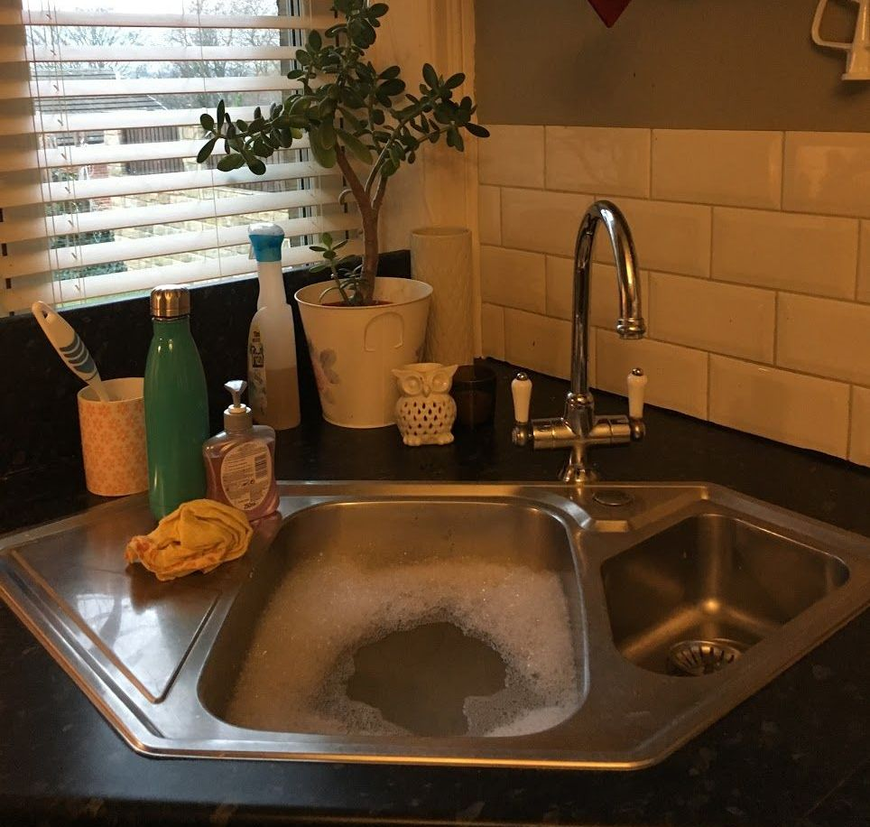 Image may contain: Interior Design, Sink Faucet, Indoors, Sink, Home Decor
