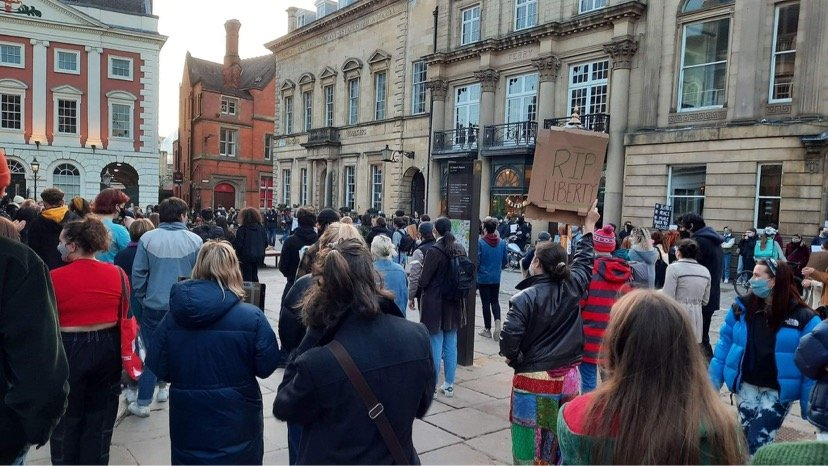 Covid: Bristol Kill the Bill protest attended by thousands