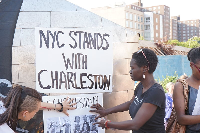 nyc_stands_with_charleston_vigil_and_rally_22nd_june_2015
