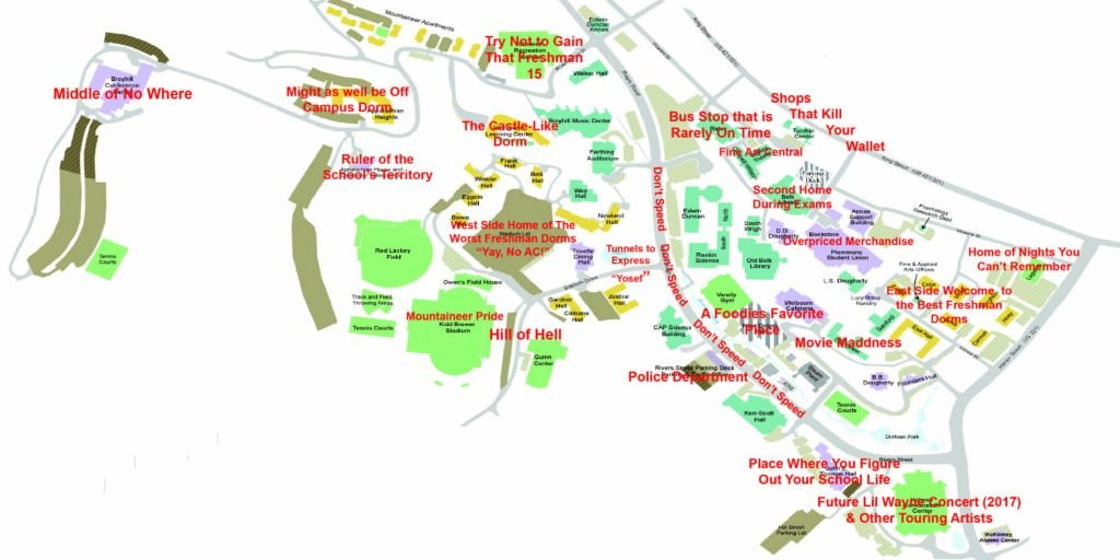 An Honest Map Of App State Because We All Know Boone Better Than - Make points on a map