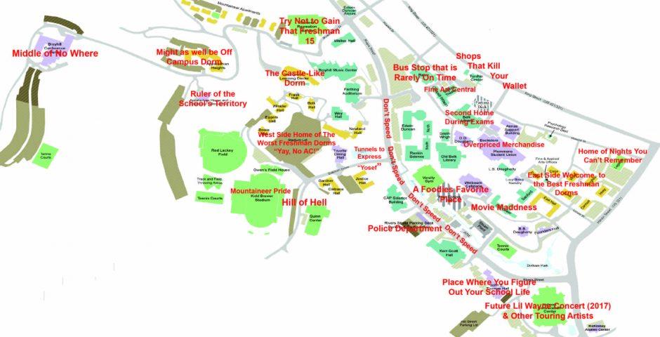 Appalachian State University Campus Map World Map Atlas