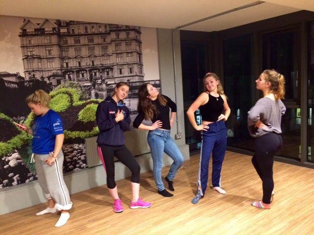 Tuesday night dance rehearsals in full swing