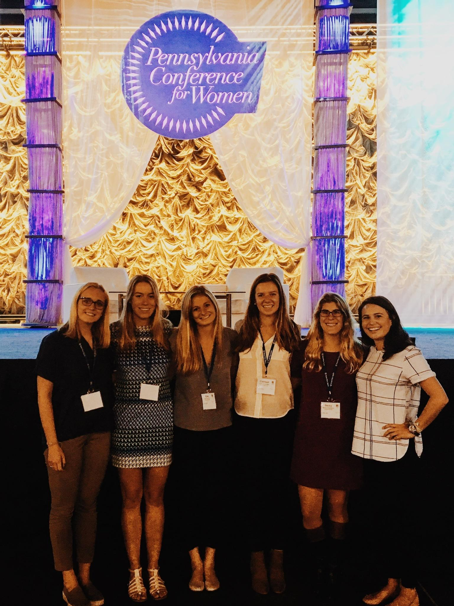 Last year's executive board at Pennsylvania's Conference for Women