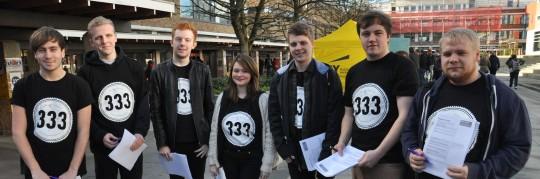 The 333 Volunteers