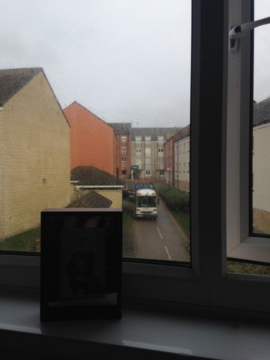 Stared out the window at the bin men wondering what I'm doing with my life.