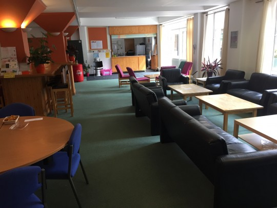 Fylde Common Room is often littered with freebies, from folders to food!