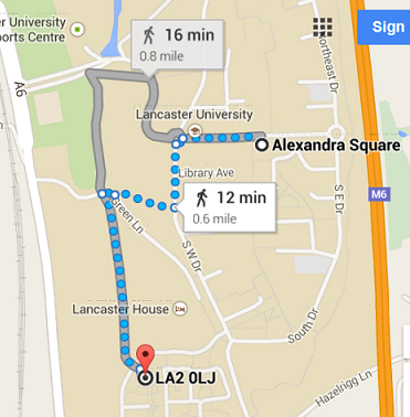 Map Lonsdale to Alex Square1