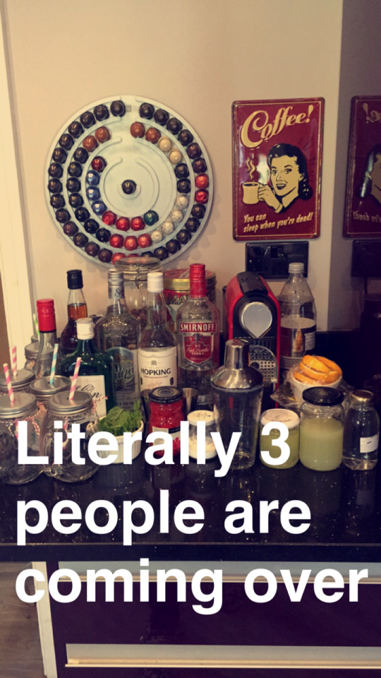 I mean you can leech of you're family's alcohol at christmas thats cool