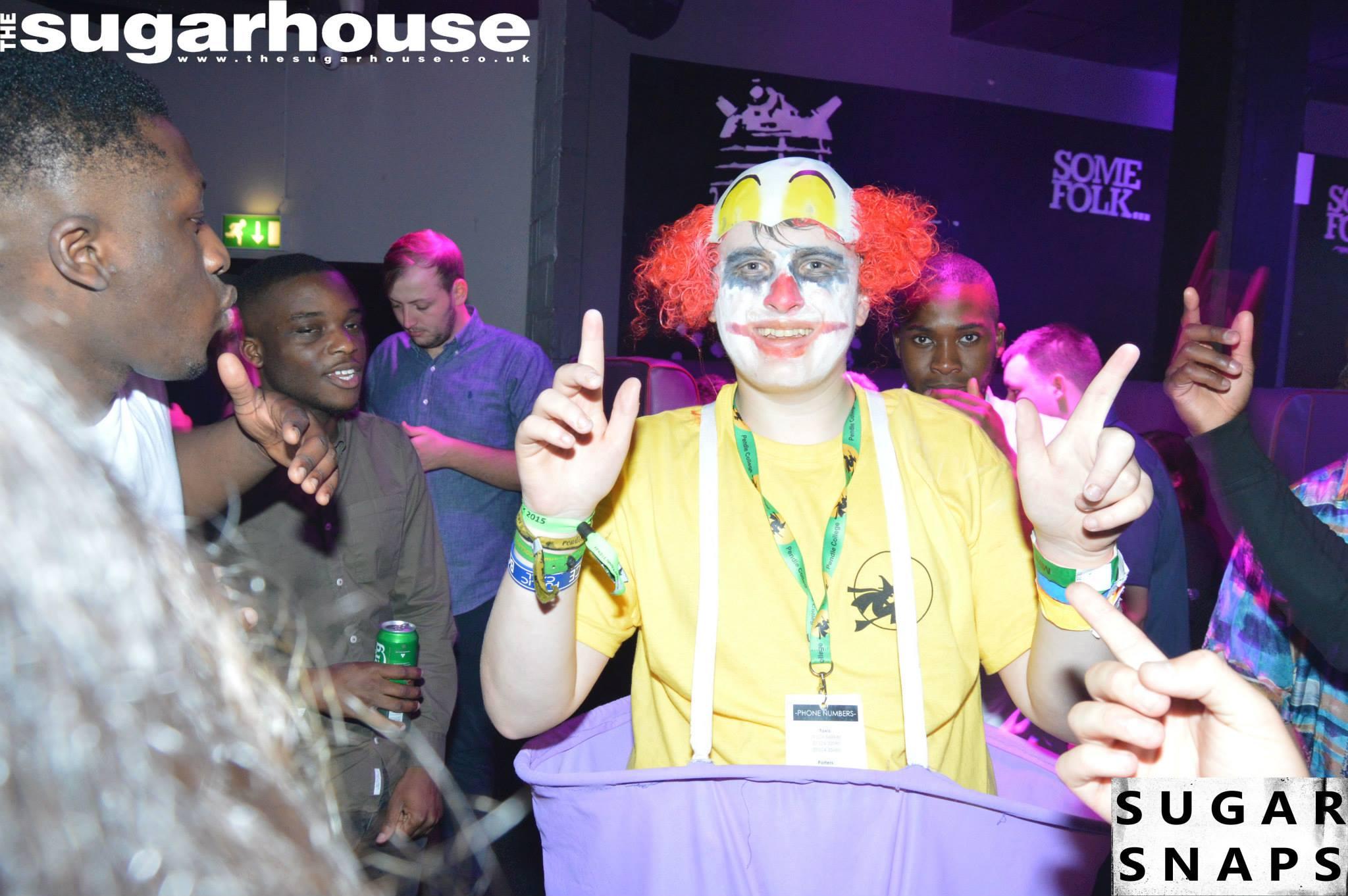 I am clown, here I am