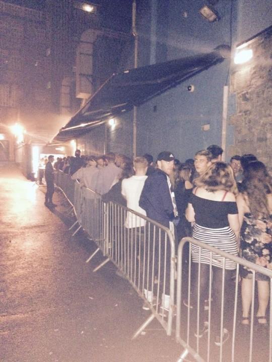 A pretty standard queue...