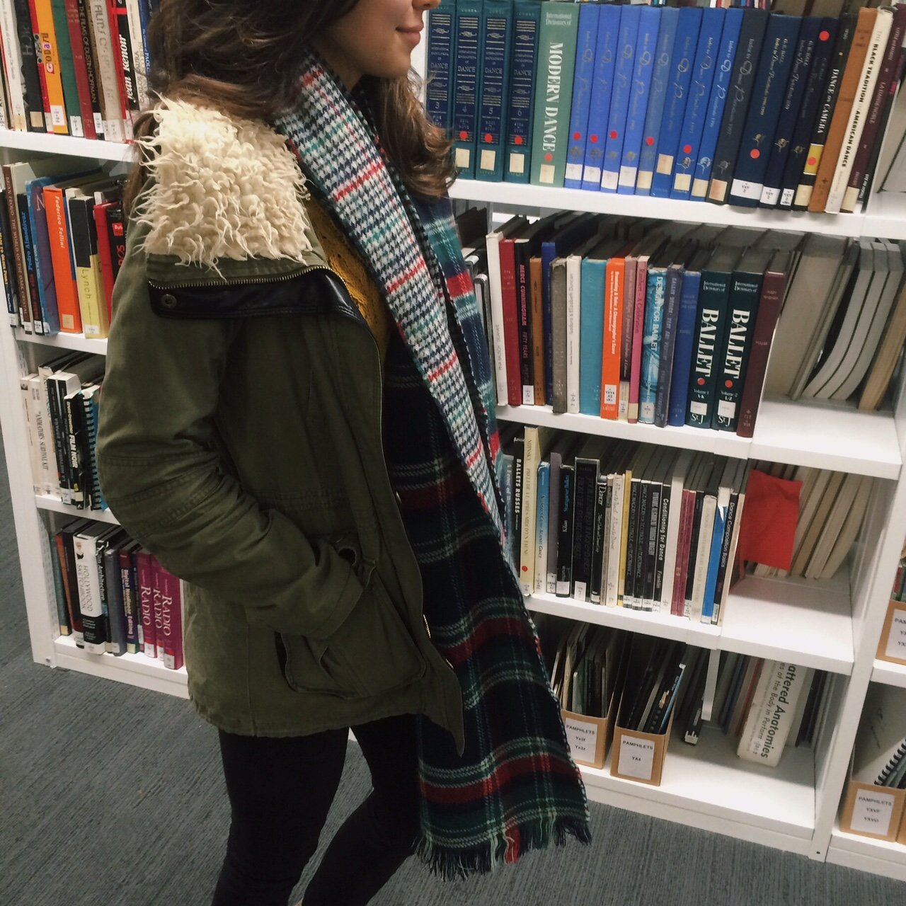 Classic study look for any busy third year spending most of their time in the library..