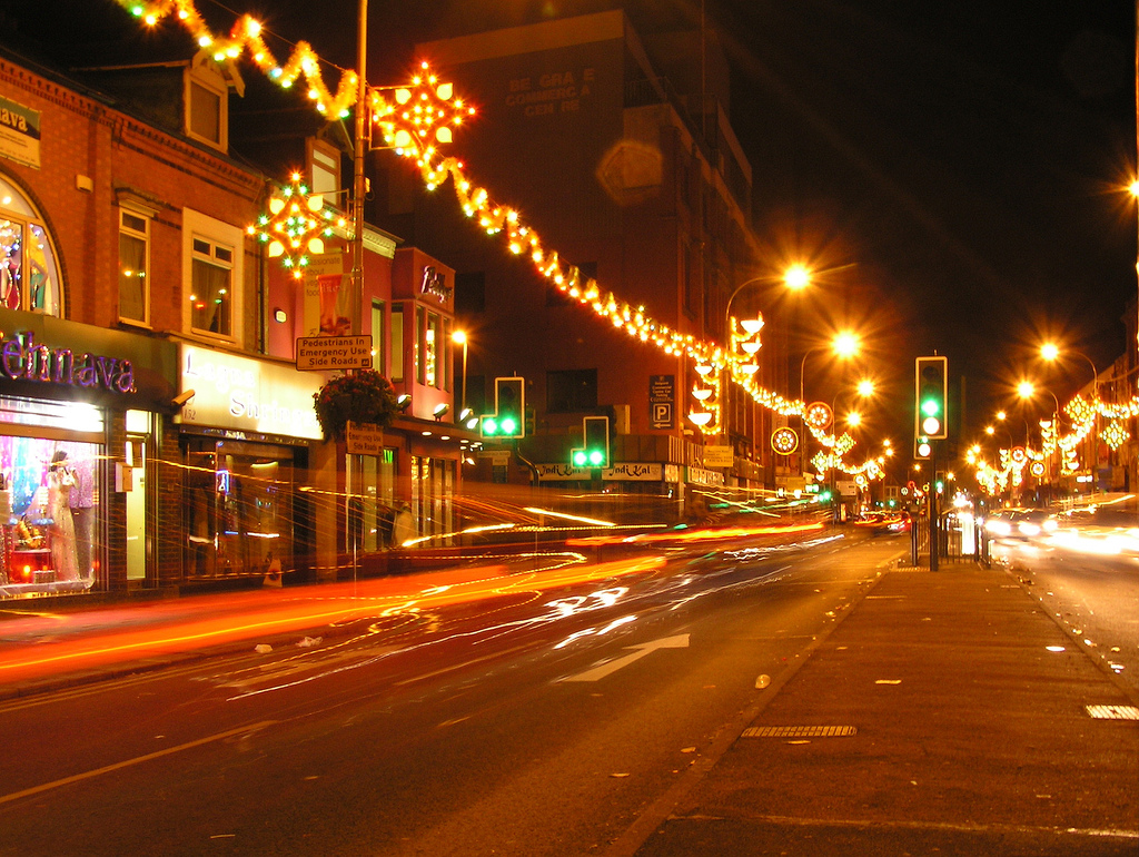 Diwali on leicester's famous Belgrave Road