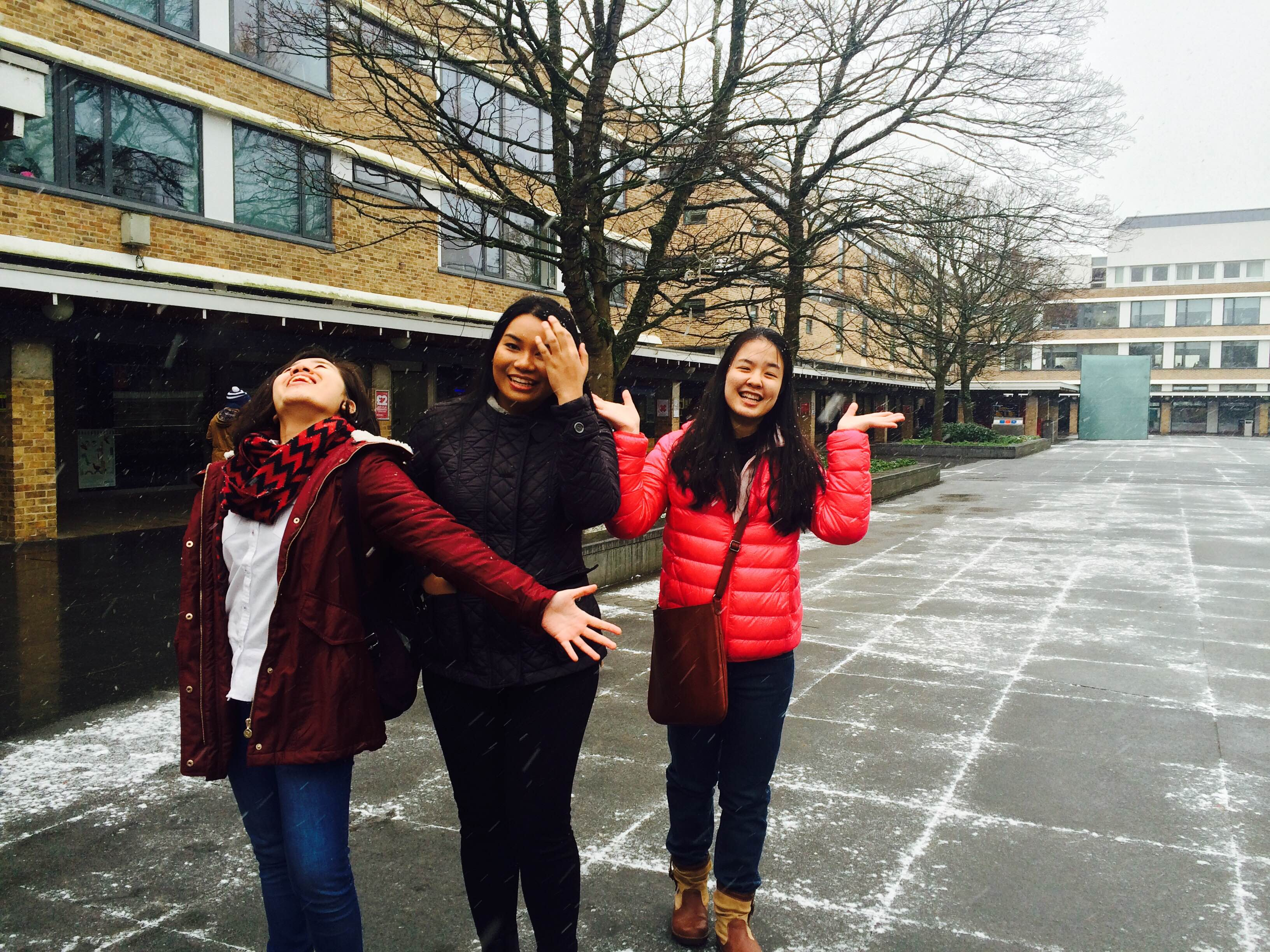 An Asian girls squad