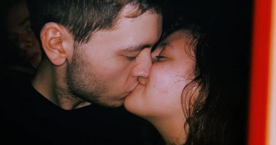 Image may contain: Make Out, Face, Kissing, Kiss, Human, Person