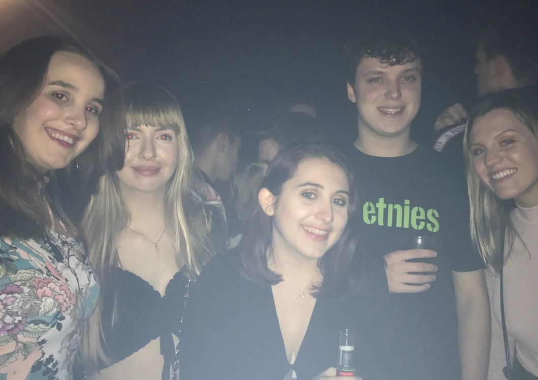 Image may contain: Female, Photography, Portrait, Photo, Night Club, Beverage, Drink, Club, Night Life, Face, Party, Person, Human