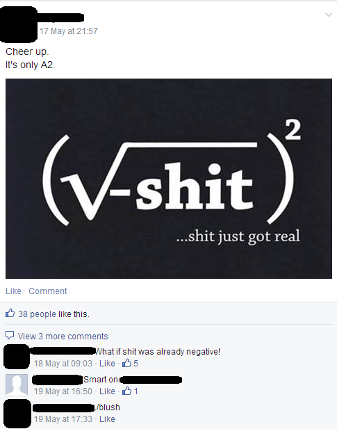 Hitting the minutiae of Maths problems... great fun in tutorials