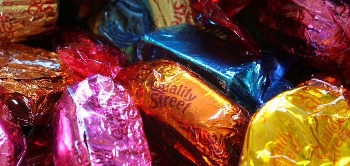 Chocolate at Christmas was the start of my recovery from