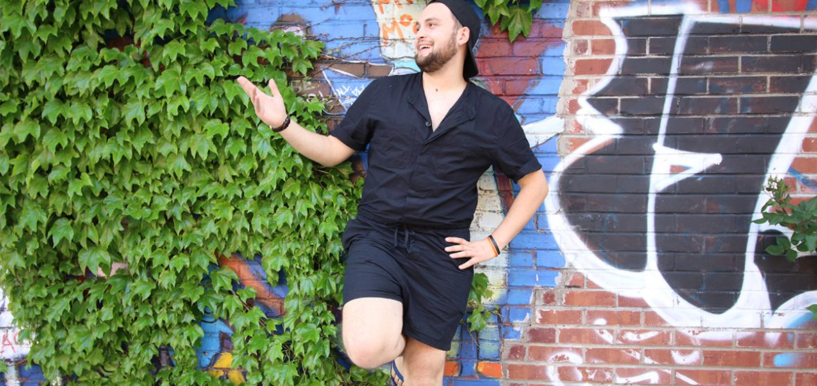 96c79c72600 I wore a male romper for the day and you know what  I would proudly do it  again