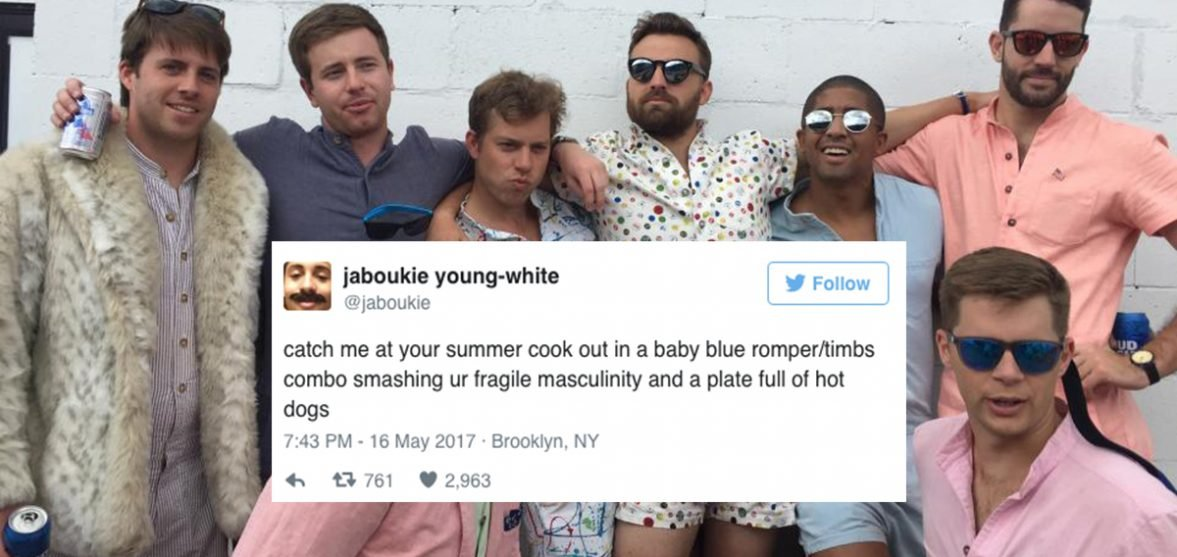 1948714e5978 These social media reactions to the male romper are hilarious