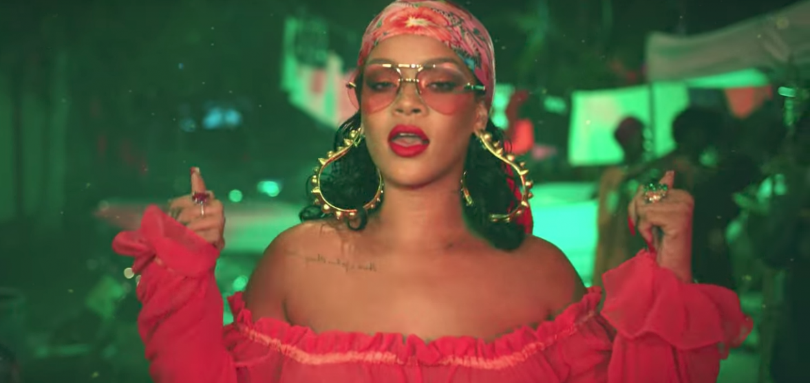 In True Rihanna Fashion The Queen Stars Sauciest Song Of Summer