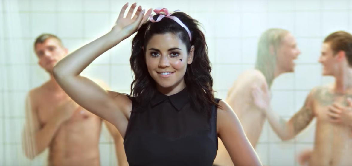In case you forgot, Marina and The Diamonds wrote 'New Rules