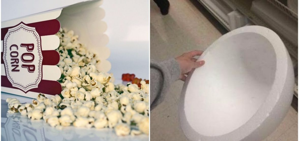 9d4ce29ec7 This girl just invented the most genius way to sneak snacks into the  movies